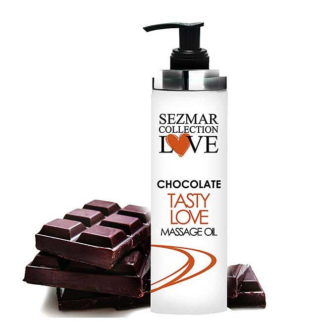 Шоколад Масажно масло за флирт и любовна игра / CHOCOLATE Love Massage Oil