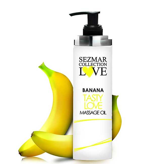 Банан Масажно масло за флирт и любовна игра / BANANA Love Massage Oil