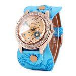 Модерен и свеж дамски часовник с кварцов механизъм