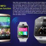 Смарт часовник Aplus GV 18 работещ  като самостоятелен смартфон със SIM карта и камера